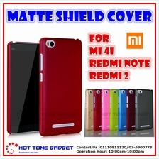 Xiaomi MiA1 Mi5X Redmi Note 2 3 5Plus Matte Shield Back Cover Casing