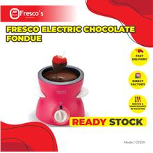 Fresco Electric Chocolate Fondue CF21A Pink Color