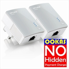 TP-LINK PA4010KIT 500Mbps Powerline Homeplug Adapters (2units)