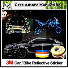 Free Gift + 3M Car Reflective Sticker Tape Strip 5 meter 'Ready Stock'