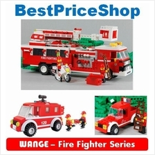 LEGO compatible - WANGE Fire Fighter Series - building brick games