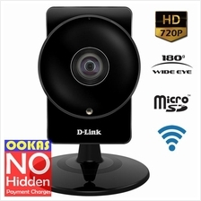 D-Link HD 180-Degree Wi-Fi IP Cloud Camera DCS-960L MicroSD Wireless