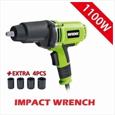 WIDO 1100W Electric Impact Wrench Easily Wind Machine Gun Powerful