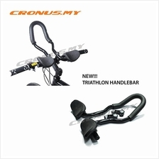 [CRONUS.MY] BICYCLE TRIATHLON AERO TRI BARS HANDLEBAR BIKE