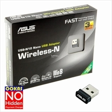 Asus Wireless-N USB Nano Wi-Fi Adapter Desktop PC Laptop USB-N10