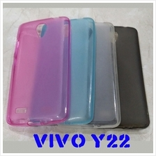 Vivo Y22 silicone TPU cover case not rubber