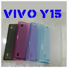 Vivo Y15 silicone TPU cover case not rubber