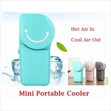 Portable Rechargeable Handheld USB Port Air Cooler Fan Conditioner