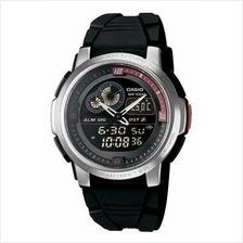 Casio Ana-Digit Thermometer Watch AQF-102W-1BVDF