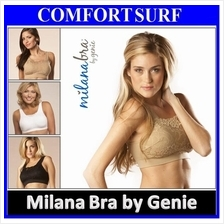 3pcs Set High Quality Genie Milana Bra With Removable Pads