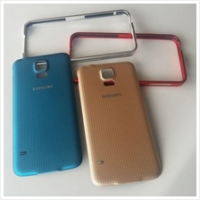 samsung galaxy s5 replacement battery cover or aluminium bumper