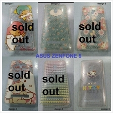 asus zenfone 5 cartoon diamond mounted plastic cover free shipping