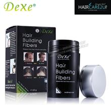 22g Dexe Hair Building Fibers (FREE 180ml Rising Up Hair Spray)