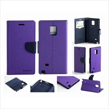 Samsung Galaxy Note 4 Sony M2 Z3 T3 HTC M8 Mercury Wallet case