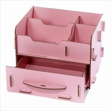 DIY Wooden Cosmetic Storage Box *Free Pos