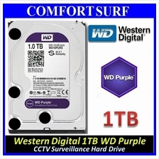 WD 1TB / 2TB 64M SATA III Western Digital Purple 6Gb/s, INTELLIPOWER