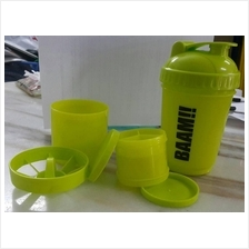 FitWhey Smart Multi Compartment Protein Shaker Blender (bekas Protein)