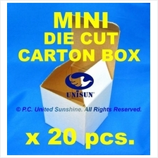 "MINI DIE CUT CARTON BOX 4¼"" x 4"" x 4"" Small Packaging Gift Box Paper"