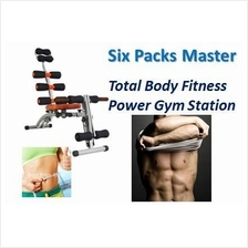 7-in-1 Super ABS Six Packs Care Power Gym 6 Pack Sit Up Gym Bench