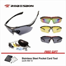 [Free Gift!] Robesbon Polarized Sunglasses w/ 3 Interchangeable Lenses