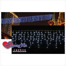 100 LED ICICLE LIGHT 3 METER FOR WEDDING CHRISTMAS DECORATION XMAS