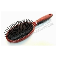 SD9551 Glossy Nylon Bristles Oval Paddle Hair Brush