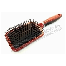 SD9595 High Glossy Nylon Bristles Paddle Hair Brush