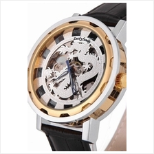 Dragon Silver 2 ToneDesign Roman Marker Unisex Automatic Mechanical le