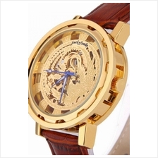 Phoenix Design Roman Marker Unisex Automatic Mechanical leather Watch