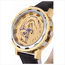 Phoenix Gold 2 Tone Design Roman Marker Unisex Automatic Mechanical le