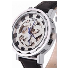 Dragon Design Roman Marker Unisex Automatic Mechanical leather Watch S