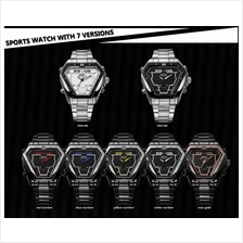 WEIDE WH1102 LED Sport Multifunction Men Quartz Wrist Watch
