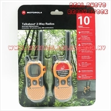 Motorola Talkabout MJ273SR Walkie Talkie Consumer Radio 2 Unit Per Pai