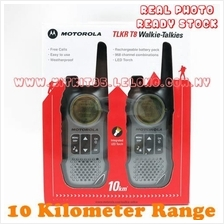 Motorola TLKR T8 Walkie Talkie Consumer Radio 2 Unit Per Pair 10KM