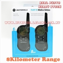 Motorola TLKR T6 Walkie Talkie Consumer Radio 2 Unit Per Pair 8KM