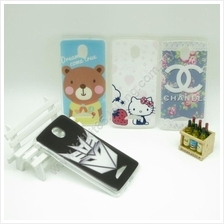 Oppo R2001 Hot Cartoon TPU Transparent Soft Case Cover