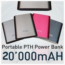 PTH i-colour 20000mAh Power Bank + FREE 1 Charging Cable