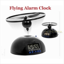Flying Alarm Clock LED Digital Display Snooze Feature