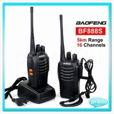 BaoFeng BF-888S 5KM Walkie Talkie 16 Channel Radio UHF 5W BF888S