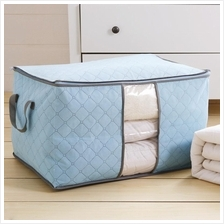 Eco Friendly Bamboo Charcoal Comforter Storage Bag
