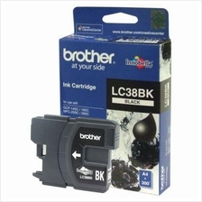 Brother LC-38 Black Ink (Genuine) 145 165 195 250 255 290 295