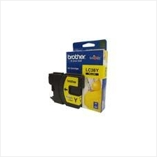Brother LC-38 Yellow Ink Cartrige (Genuine)145 165 195 250 255 290 295