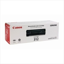 Canon Cartridge 312 Black Toner (Genuine) LBP-3050 LBP-3100 LBP-3150