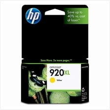 HP 920XL YELLOW Ink CD974AA (Genuine) Officejet 6000 6500 7000