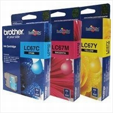 Brother LC-67 Color Value Pack Ink (Genuine)490 6490 6890 795 990 585