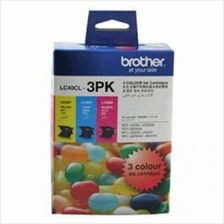 Brother LC-40 CMY VALUE PACK Ink (Genuine) MFC-J430W MFC-J625DW J825DW