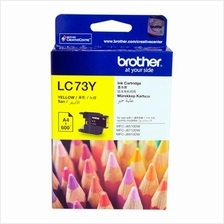 Brother LC-73 Yellow Ink (Genuine) 430 625 825 5910 6510 6910
