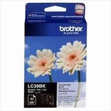 Brother LC-39 Black Ink Cartridge (Genuine) 125 315 265 415