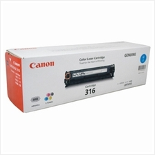 Canon Cartridge 316 CYAN Toner (Genuine) for LBP-5050 LBP-5050N