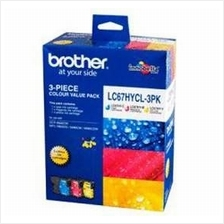 Brother LC-67HY Color Value Pack Ink (Genuine) 490 6490 6890 795 990
